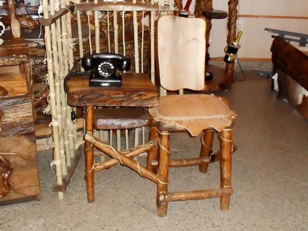 میز تلفن به سبک روستیک