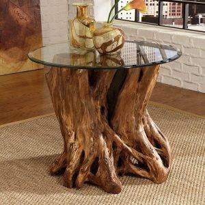 میز جلومبلی طرح تکه ای از طبیعت