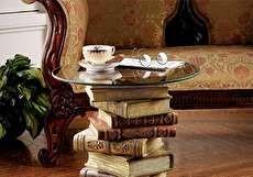 میز جلو مبلی طرح کتاب