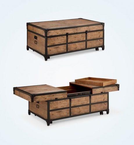 میز جلو مبلی طرح صندوقچه