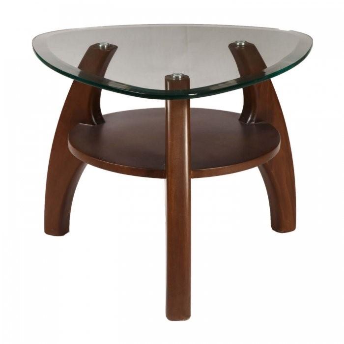 پایه میز عسلی شیشه ای