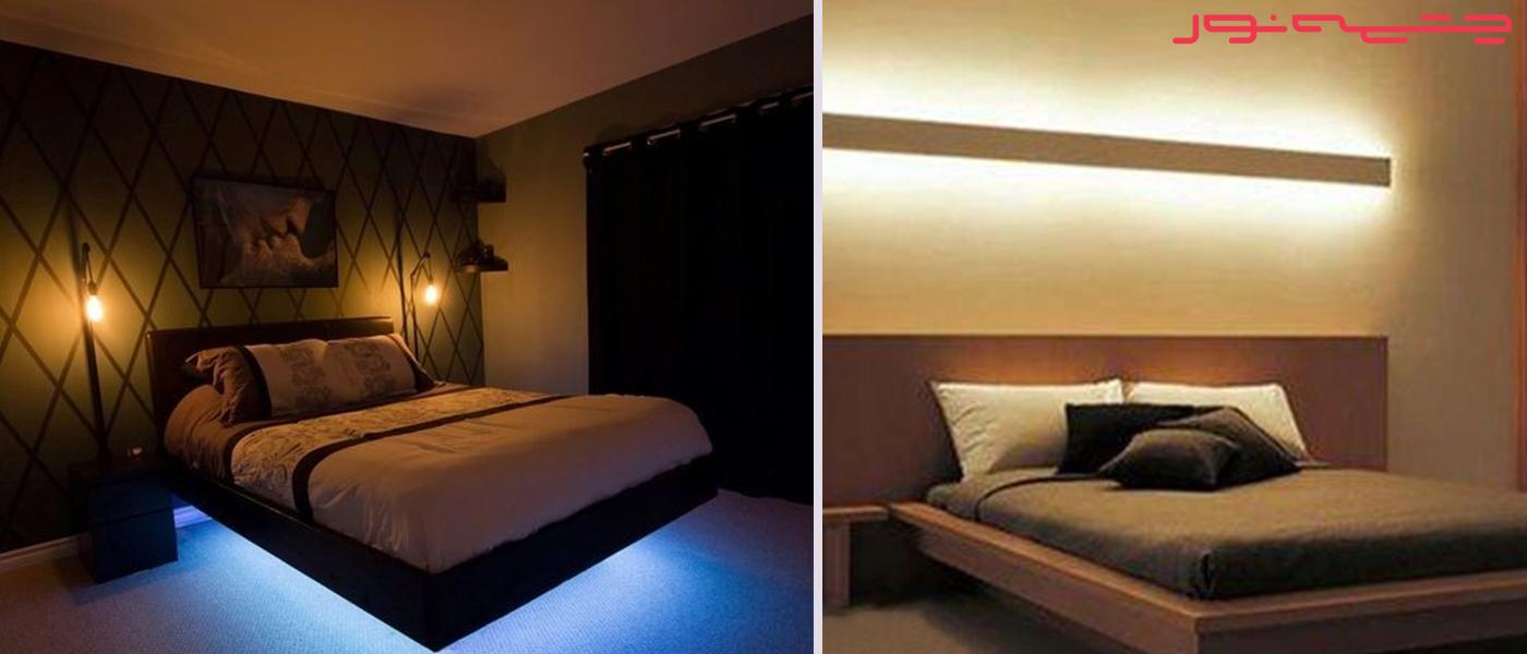 روشنایی اتاق خواب